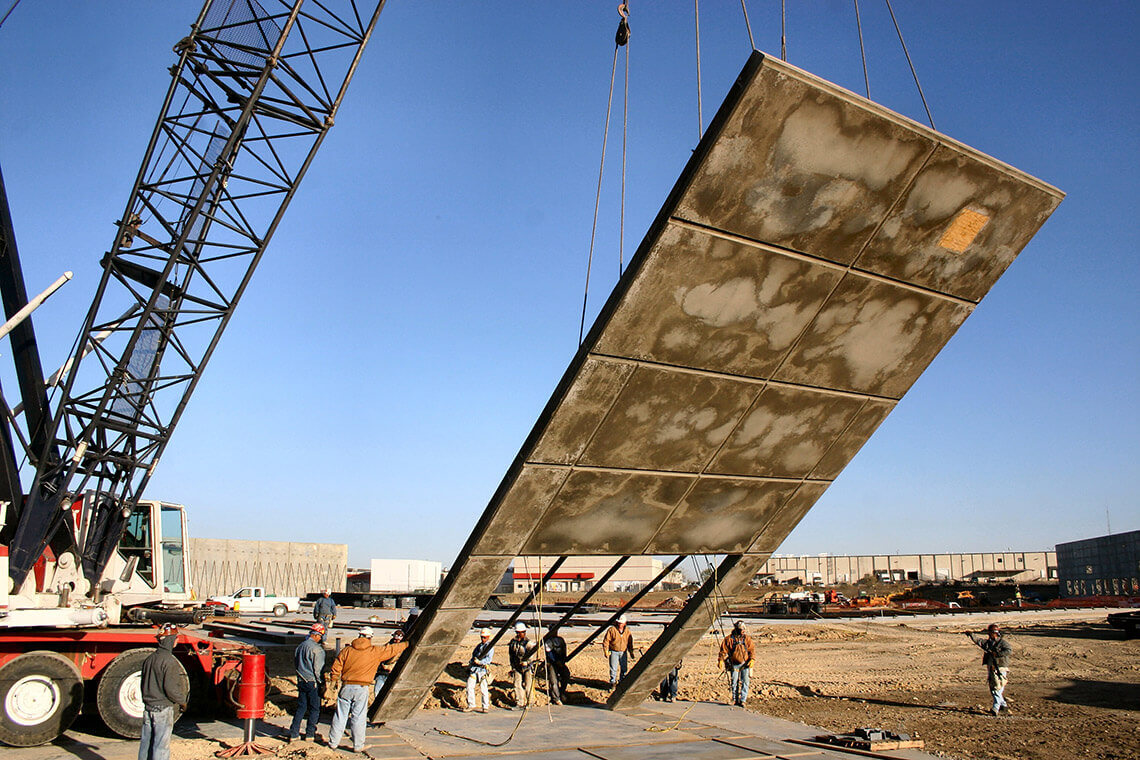 A Close View of the Tilt-up Construction Process